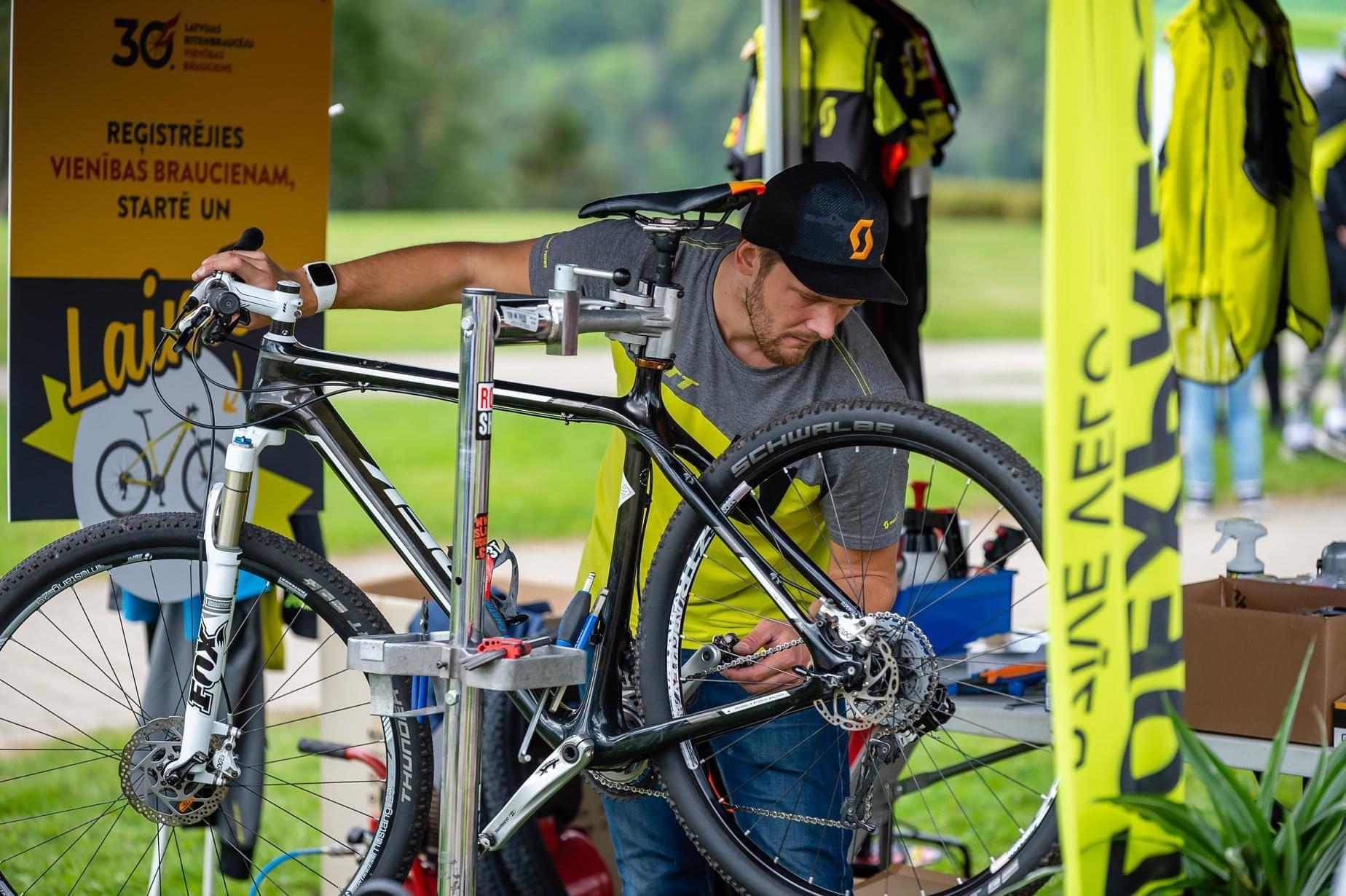 velosipēdu remonts rīgā